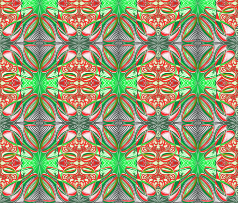 Strawberry_Lime3 fabric by yezarck on Spoonflower - custom fabric