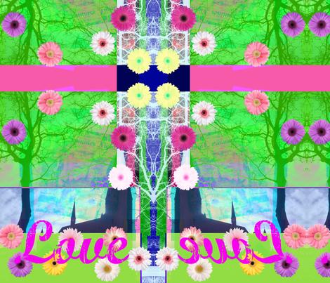 Summer Love, June 21, 2012 by Evandecraats fabric by _vandecraats on Spoonflower - custom fabric