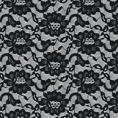 Long, black veil fabric by keweenawchris on Spoonflower - custom fabric