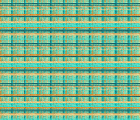 Dottik Batik: Plaid fabric by tallulahdahling on Spoonflower - custom fabric