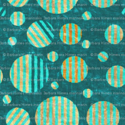 Dottik Batik: Little Striped Dots