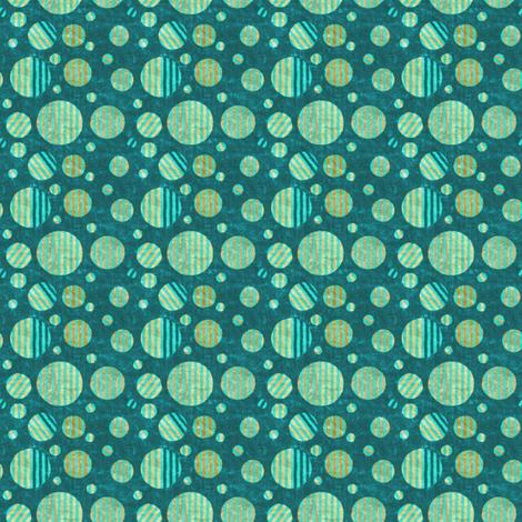 Dottik Batik: Little Striped Dots fabric by tallulahdahling on Spoonflower - custom fabric