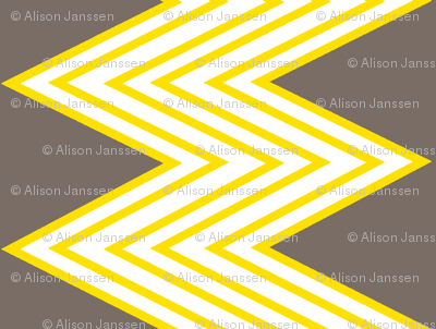Zig-zag yellow