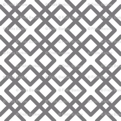 Modern Weave in Steel Gray