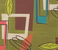Mid Century Modernista (Green)