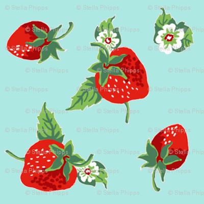 strawberries_aqua