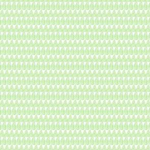 Teardrop Pattern Green