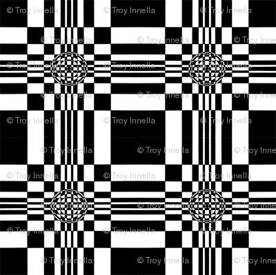Fibonacci Squares with Circles