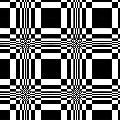 Fibonacci Squares with Circles fabric by j__troy on Spoonflower - custom fabric