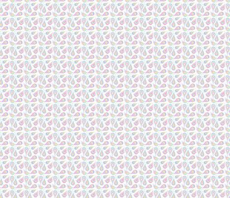 POUSSIN CACHEMIRE 1 fabric by manureva on Spoonflower - custom fabric