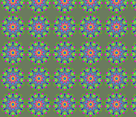 kaleidoscope_011 fabric by mammajamma on Spoonflower - custom fabric