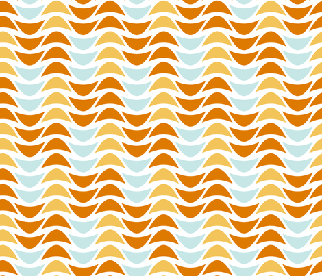 BeachWaves fabric by mrshervi on Spoonflower - custom fabric