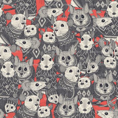 sweater mice coral