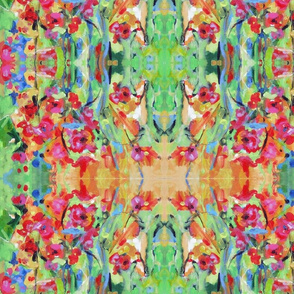 Bloom - Green, Pink, Orange, Yellow & Blue