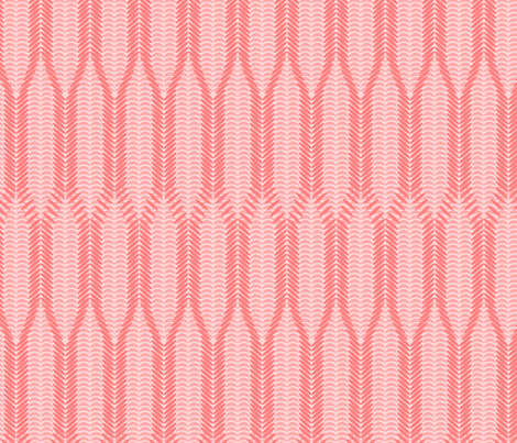 I'm knitted pink! fabric by mrshervi on Spoonflower - custom fabric