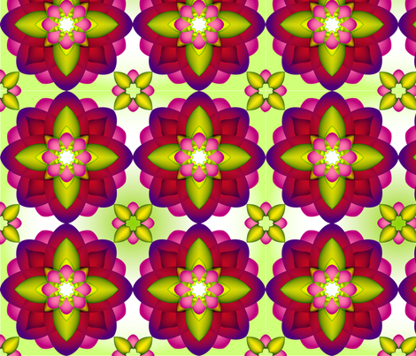 NEW_FLOWERS-3 fabric by miguel_issa on Spoonflower - custom fabric