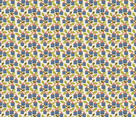 Flower Bells fabric by danab78 on Spoonflower - custom fabric
