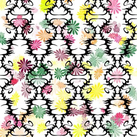 Flower Band fabric by j__troy on Spoonflower - custom fabric