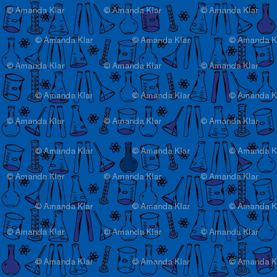 Chemistry Lab Blue