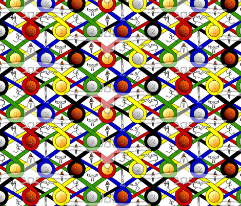 Champions fabric by glimmericks on Spoonflower - custom fabric