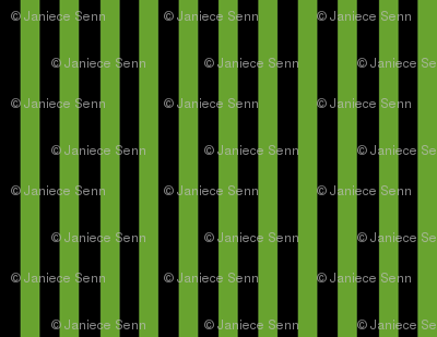 Green and black stripes (The green Corset Collection)