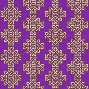Celtic Knotwork Purple small