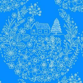 Flower Hunter Cottage - Viper Bugloss
