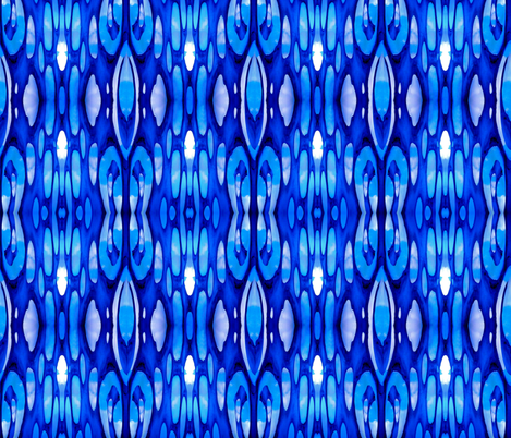 Blue Bayou fabric by whimzwhirled on Spoonflower - custom fabric
