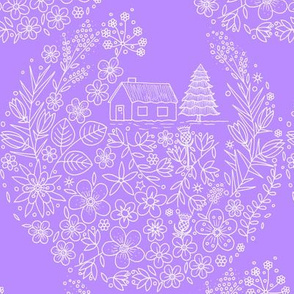 Flower Hunter Cottage - Night Scented Stock