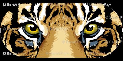 Tiger Eyepillow