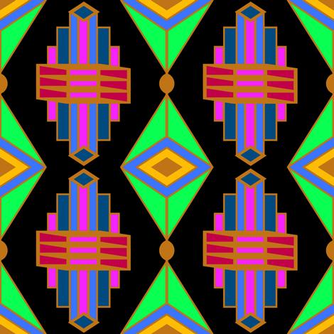 ArtDecoJewel4 fabric by grannynan on Spoonflower - custom fabric