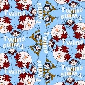 Twin Boys! Terra Head Group Fabric