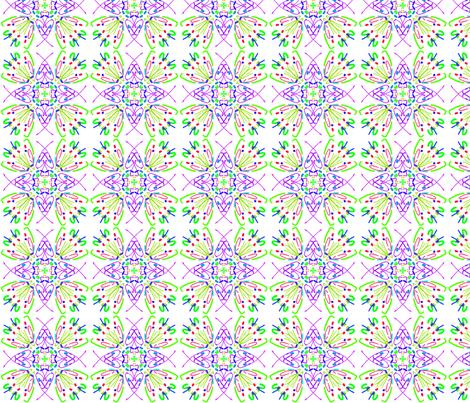kaleidoscope_014 fabric by mammajamma on Spoonflower - custom fabric