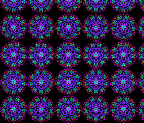 kaleidoscope_015 fabric by mammajamma on Spoonflower - custom fabric