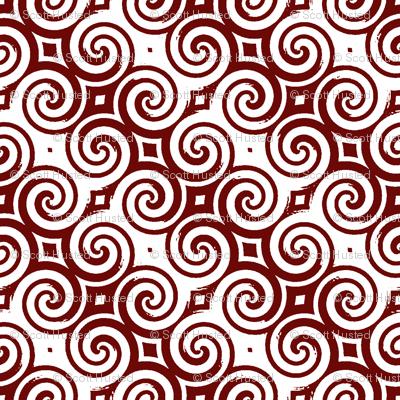 Upton Spiral red