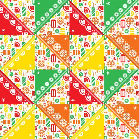 Popcicle Pinwheel fabric by karistyle on Spoonflower - custom fabric
