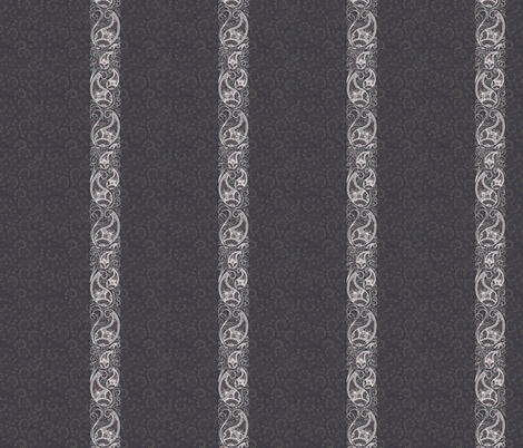 Paisley Stripe fabric by flyingfish on Spoonflower - custom fabric