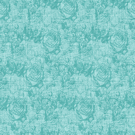 Lush Tones - Cool Mint fabric by inscribed_here on Spoonflower - custom fabric