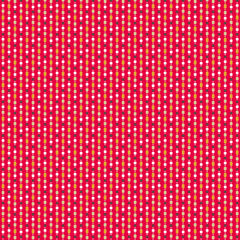 Retro Kitchen Red Bead Curtain fabric by inscribed_here on Spoonflower - custom fabric