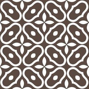 Mosaic - Retro Kitchen Brown