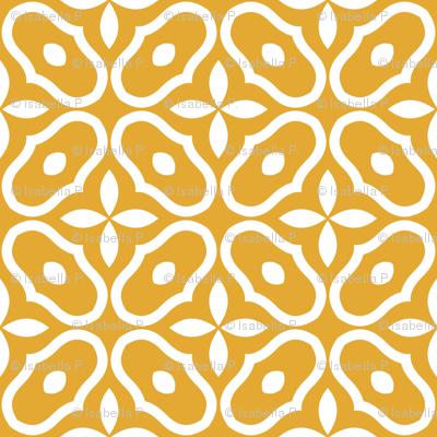 Mosaic - Retro Kitchen Gold