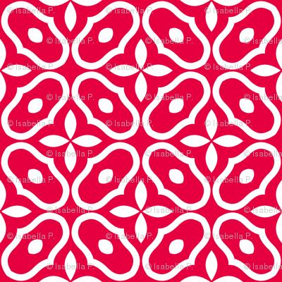 Mosaic - Retro Kitchen Red