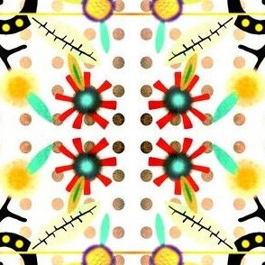Happy Polka Dots Fabric