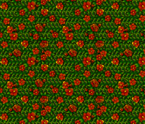 floral_carpet2 fabric by glimmericks on Spoonflower - custom fabric