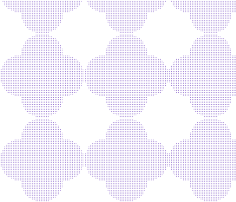 geometric wallpaper - purple fabric by gingerme on Spoonflower - custom fabric