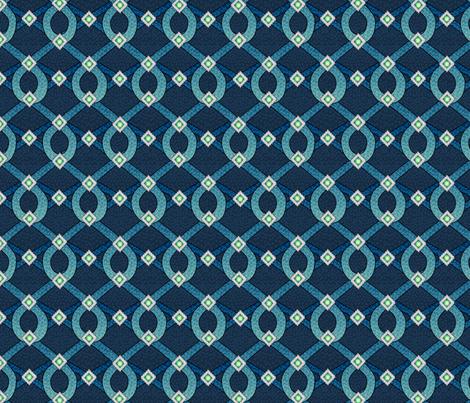 blue_shimmer fabric by glimmericks on Spoonflower - custom fabric