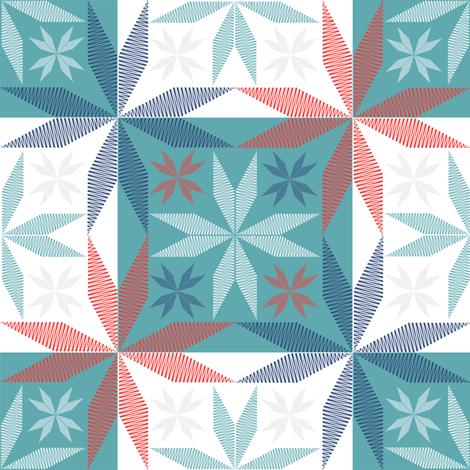 Scandinavian classic fabric by creative_cat on Spoonflower - custom fabric