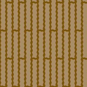 Beige framed in brown