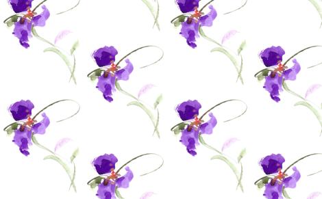 PURPLE PLUS fabric by darlene_flood on Spoonflower - custom fabric