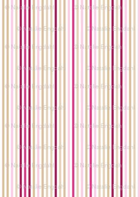 Oriental Lily stripe